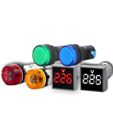 LED Pilot Lamp & Buzzer AD22